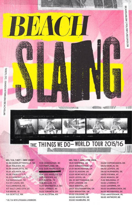 "BEACH SLANG gehen mit neuem Album ""The Things We Do To Find People Who Feel Like Us"" im Februar 2016 auf Tour"