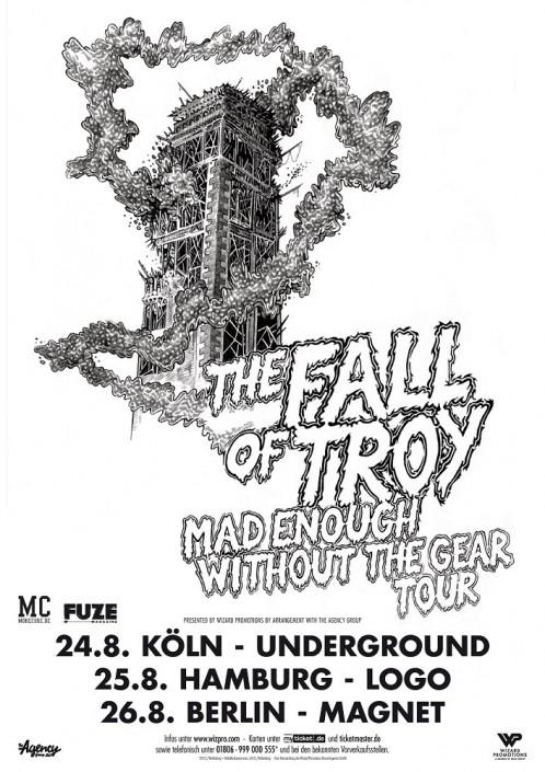 Rolo Tomassi kündigen neues Album und Europatour mit The Fall Of Troy an