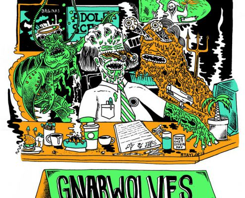 Skate-Pop-Punk Trio Gnarwolves aus Brighton