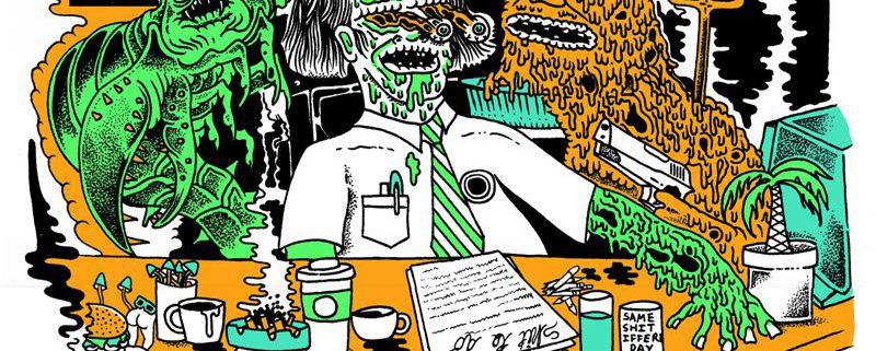 Skate-Pop-Punk Trio Gnarwolves aus Brighton