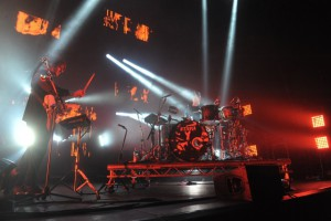 Alt-J und Hundred am 19.11.2015 Mitzubishi Electric Halle in Düsseldorf